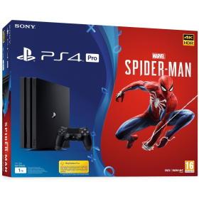 SONY konsola do gier PlayStation 4 Pro, 1TB, Spider-Man Limited Edition (PS719406570), BEZPŁATNY ODBIÓR: WROCŁAW!
