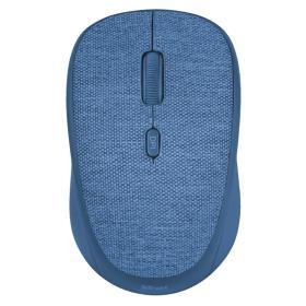 Trust mysz bezprzewodowa Yvi Fabric, niebieska (22629), BEZPŁATNY ODBIÓR: WROCŁAW!