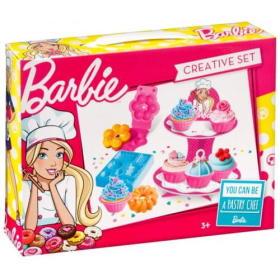 Barbie Zestaw z modeliną do glinianych babeczek, BEZPŁATNY ODBIÓR: WROCŁAW!