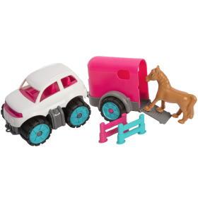 BIG Power Mini Auto z przyczepą dla koni, BEZPŁATNY ODBIÓR: WROCŁAW!