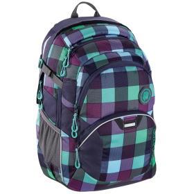 CoocaZoo plecak szkolny JobJobber2, Green Purple District, BEZPŁATNY ODBIÓR: WROCŁAW!
