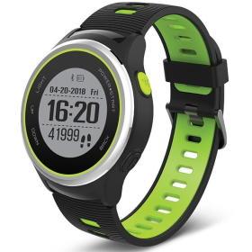 Forever smartwatch SW-600, czarny/zielony, BEZPŁATNY ODBIÓR: WROCŁAW!