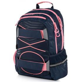 Karton P+P plecak anatomiczny OXY SPORT Pastel Line Pink, BEZPŁATNY ODBIÓR: WROCŁAW!