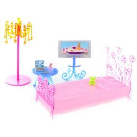 Lamps zestaw mebli dla lalki Glorie, sypialnia, BEZPŁATNY ODBIÓR: WROCŁAW!