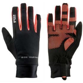 R2 rękawice sportowe Cruiser Black/Neon Red 8, BEZPŁATNY ODBIÓR: WROCŁAW!