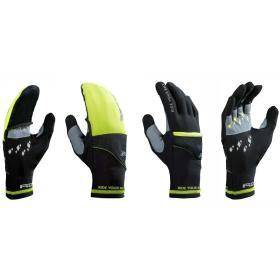 R2 rękawice uniwersalne Cover Black/Neon Yellow 8, BEZPŁATNY ODBIÓR: WROCŁAW!