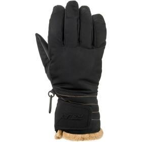 Relax rękawice damskie Icepeak czarne, beżowe M, BEZPŁATNY ODBIÓR: WROCŁAW!