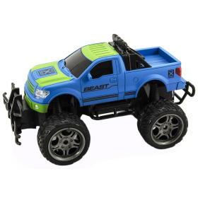 Teddies Auto terenowe RC 30 cm, duże koła, zdalne sterowanie, niebieskie, BEZPŁATNY ODBIÓR: WROCŁAW!