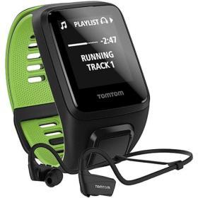 TomTom zegarek Runner 3 Cardio + Music + HP black/green (S), BEZPŁATNY ODBIÓR: WROCŁAW!