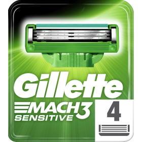 Gillette wkłady do maszynki Mach3 sensitive - 3 sztuki, BEZPŁATNY ODBIÓR: WROCŁAW!