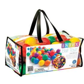 Intex Kulki do basenu 6 kolorów 100 szt, BEZPŁATNY ODBIÓR: WROCŁAW!