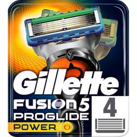 Gillette wkłady do maszynki Fusion Proglide Power - 4 sztuki, BEZPŁATNY ODBIÓR: WROCŁAW!