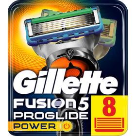 Gillette wkłady do maszynki Fusion ProGlide Power - 8 sztuk, BEZPŁATNY ODBIÓR: WROCŁAW!