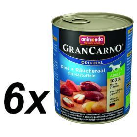 Animonda mokra karma dla psa Grancarmo Adult wędzony węgorz + ziemniaki 6x800, BEZPŁATNY ODBIÓR: WROCŁAW!