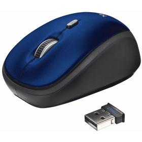 Trust mysz bezprzewodowa Yvi Wireless Mini Mouse Blue (19663), BEZPŁATNY ODBIÓR: WROCŁAW!