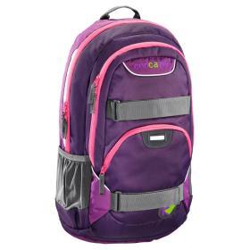 CoocaZoo Plecak szkolny Rayday, Purple Magentic, BEZPŁATNY ODBIÓR: WROCŁAW!