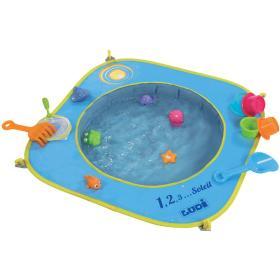 Ludi Składany basen do piasku z zabawkami 72x72x16 cm, BEZPŁATNY ODBIÓR: WROCŁAW!