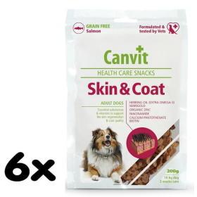 Canvit suplement diety dla psa Snacks Skin & Coat - 6x 200 g, BEZPŁATNY ODBIÓR: WROCŁAW!