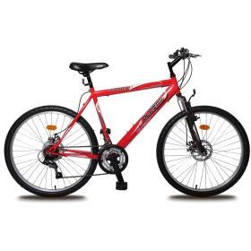 """Olpran rower górski Bomber Sus Full disc 26"""" M black/red, BEZPŁATNY ODBIÓR: WROCŁAW!"""
