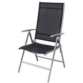 Rojaplast krzesło ogrodowe ANF-26C czarne (606), BEZPŁATNY ODBIÓR: WROCŁAW!