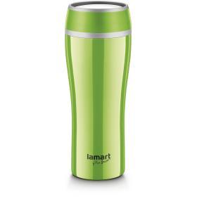 Lamart Kubek termiczny 0,4 Flac LT4027, zielony, BEZPŁATNY ODBIÓR: WROCŁAW!