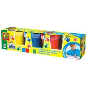 SES My First Farby do malowania palcami 4x150 ml, BEZPŁATNY ODBIÓR: WROCŁAW!