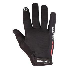 Etape wiosenne rękawiczki kolarskie męskie Spring black M, BEZPŁATNY ODBIÓR: WROCŁAW!