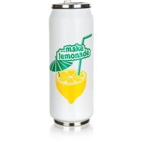 Banquet Termos BE COOL Lemon 430 ml, BEZPŁATNY ODBIÓR: WROCŁAW!