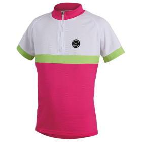 Etape koszulka rowerowa dziecięca Bambino 140/146 pink/white, BEZPŁATNY ODBIÓR: WROCŁAW!
