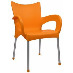 MEGA PLAST krzesło Dolce MP463, pomarańczowe, BEZPŁATNY ODBIÓR: WROCŁAW!