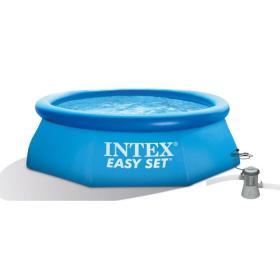 Intex basen rozporowy z filtracją kartuszową Easy Set 396 × 84 cm (28132NP), BEZPŁATNY ODBIÓR: WROCŁAW!