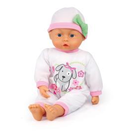 Bayer Design Lalka First words baby 38 cm, biały śpioszek, BEZPŁATNY ODBIÓR: WROCŁAW!