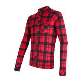 Sensor koszulka rowerowa Dres Square Black/Red L, BEZPŁATNY ODBIÓR: WROCŁAW!
