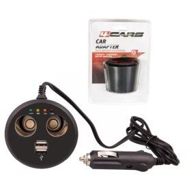 4Cars adapter 12V s USB, BEZPŁATNY ODBIÓR: WROCŁAW!