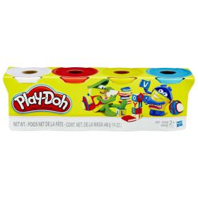 Play-Doh Zestaw 4 tub ciastoliny B5517, BEZPŁATNY ODBIÓR: WROCŁAW!