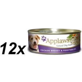 Applaws Mokra karma dla psa - kurczak i warzywa 12 x 156 g, BEZPŁATNY ODBIÓR: WROCŁAW!
