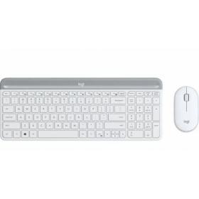 Logitech Klawiatura i mysz MK470 Wireless Offwhite 920-009205
