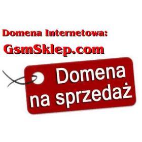 Domena internetowa GsmSklep.com