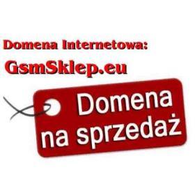Domena internetowa GsmSklep.eu