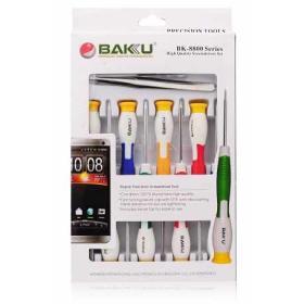Zestaw narzędzi precyzyjnych BAKU BK8800