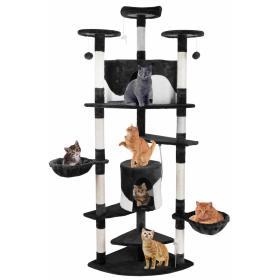 Drzewko Drapak Legowisko dla kota 200cm czarne