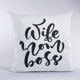 Poduszka Wife Mom Boss