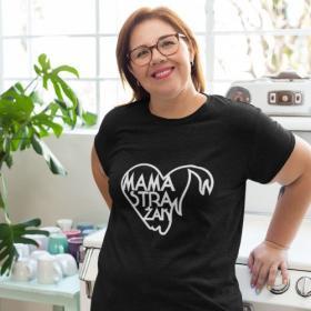 T-shirt koszulka Mama strażak