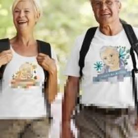Komplet T-shirtów Dziadek wie wszystko, Babcia wie wszystko najlepiej