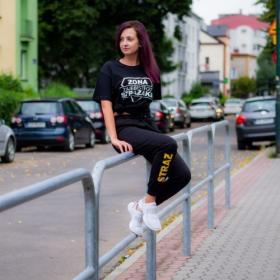 Spodnie dresowe damskie Straż