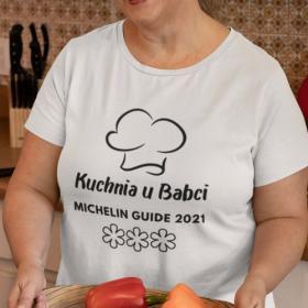 T-shirt Kuchnia u Babci - 3 gwiazdki Michelin