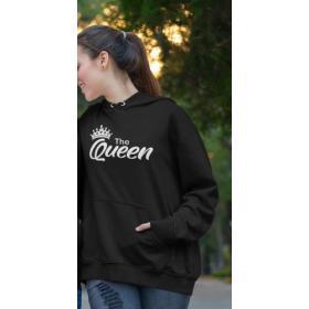 Bluza Queen przód napis Czarna XL out