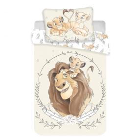 Komplet Pościeli Mufasa i Simba Kól Lew 100 x 135 + 40 x 60cm