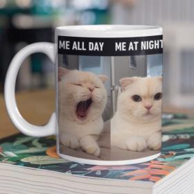 Kubek Ceramiczny Me All Day Me At Night
