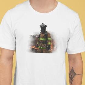T-shirt Bohater Strażak
